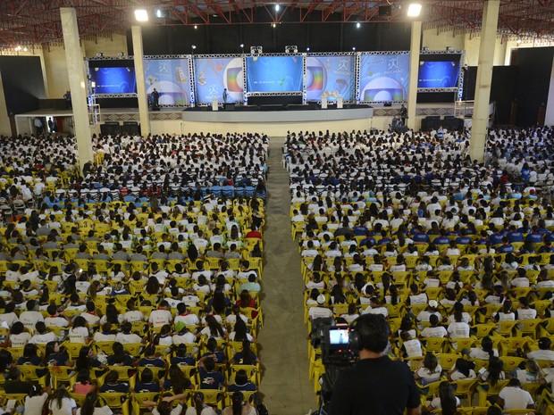Aulão do Projeto Educação reúne 4 mil alunos em Arcoverde