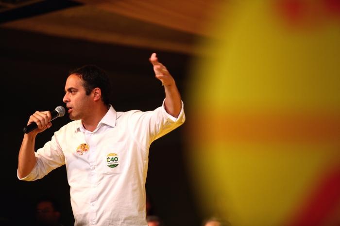 Paulo Câmara participa de carreata e inaugura comitê em Arcoverde