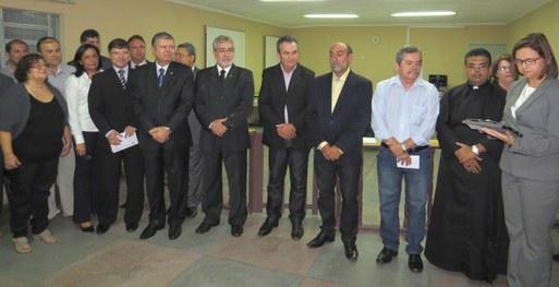 Cartório Eleitoral de Venturosa recebe nome de José Alexandre Paes