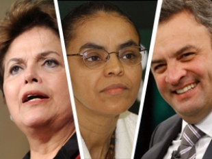 Em Pernambuco, Ibope aponta: Dilma, 43%, Marina, 36%, e Aécio, 4%