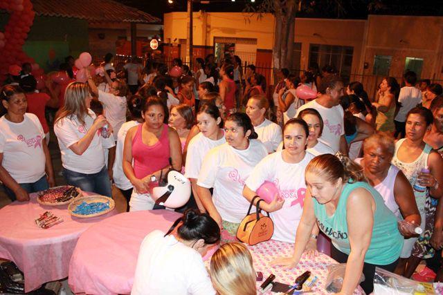 Serra Talha fecha com festa as comemorações do Outubro Rosa