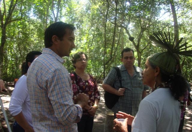 Missão do Banco Mundial visita projeto agroecológico na Aldeia dos Xucurus em Pesqueira