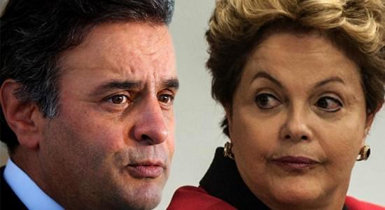 No Datafolha e no Ibope, Dilma aparece pela 1ª vez à frente de Aécio no 2º turno