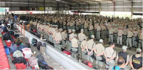 Mais de mil policiais militares irão reforçar a segurança no segundo turno no Estado