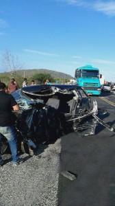 Acidente com vítima fatal na BR 232  zona rural de Pesqueira