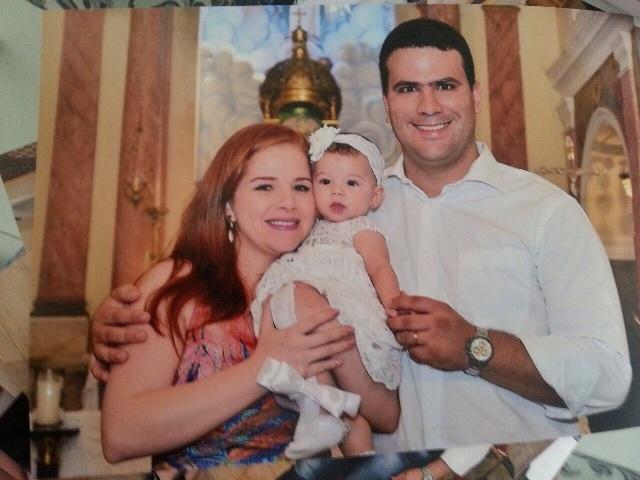 Batizado de Sofia Nunes