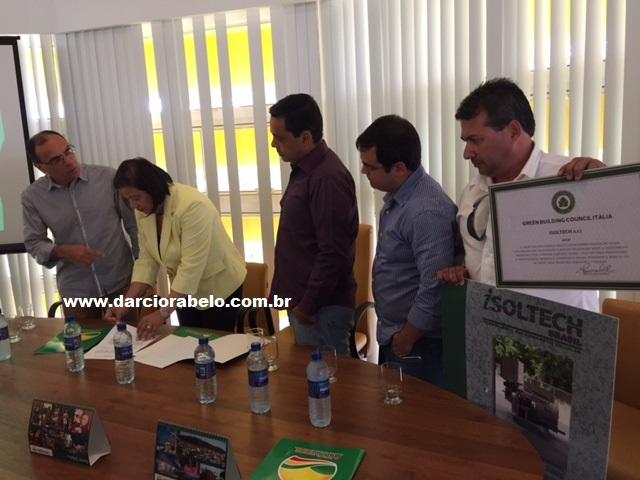 Isoltech Brasil ganha terreno para instalar uma indústria em Arcoverde