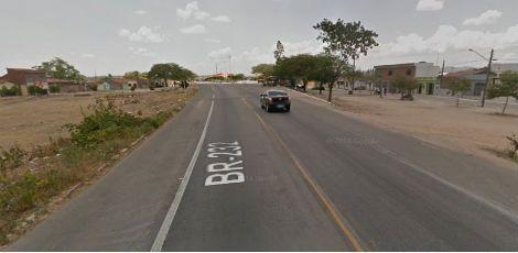 Idoso morre após ser atropelado na BR-232 em Sanharó