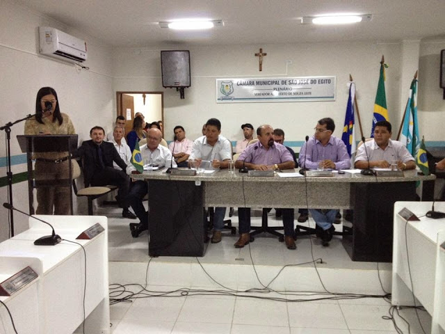 Câmara de São José do Egito promove audiência pública para discutir abastecimento d'água no Pajeú