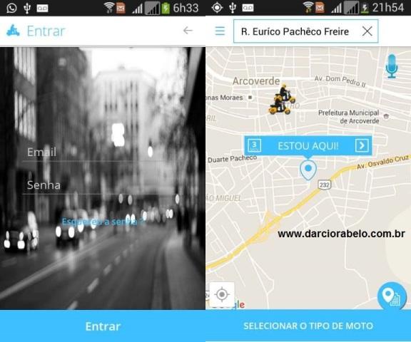 Arcotrans testa aplicativo para solicitar serviços de táxi e mototáxi em Arcoverde