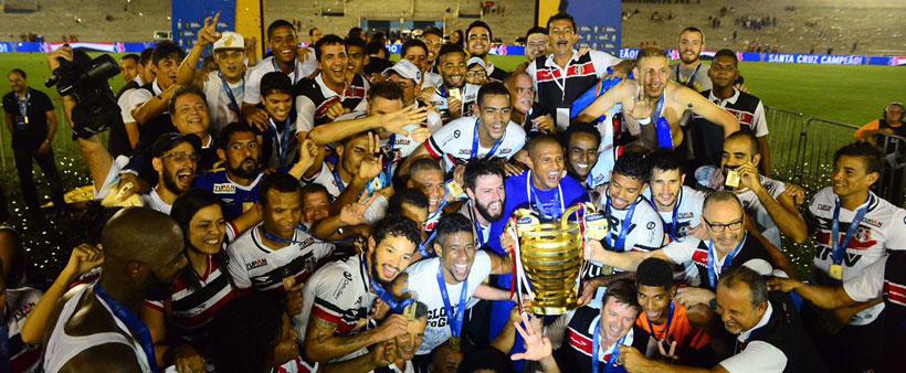 Santa empata e é campeão da Copa do Nordeste